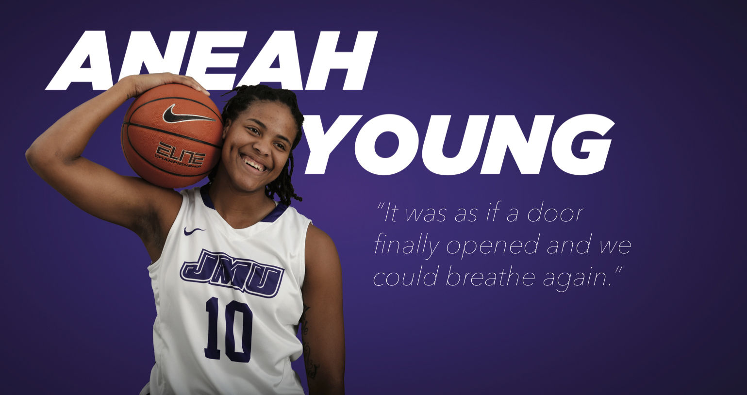 Women's Basketball: Open Doors - A Letter from Aneah Young
