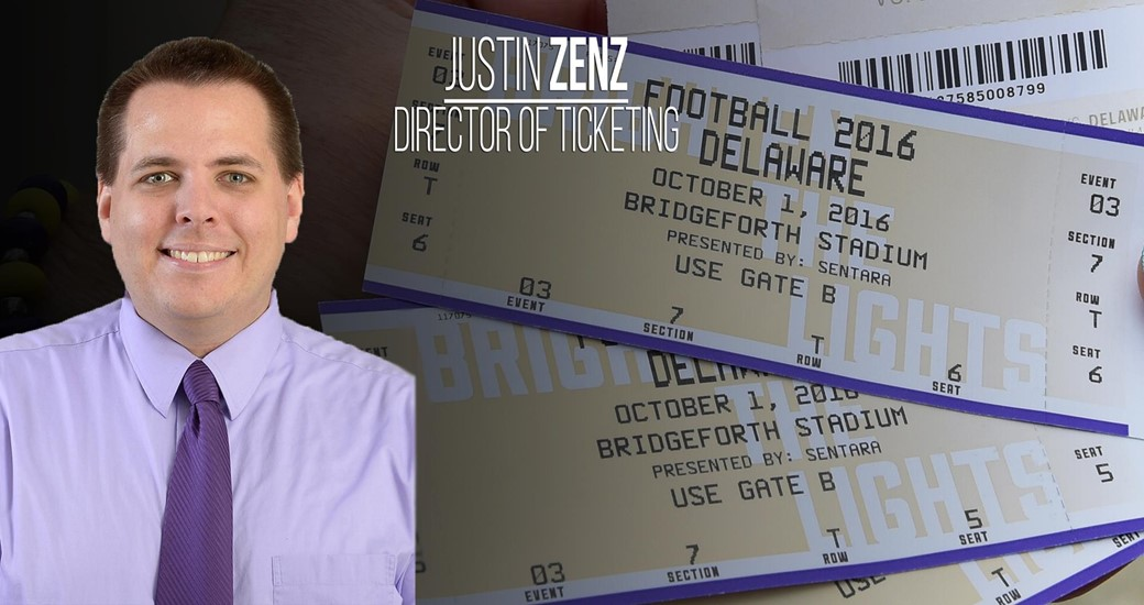 Administration: Zenz Promoted to Director of Athletics Ticketing