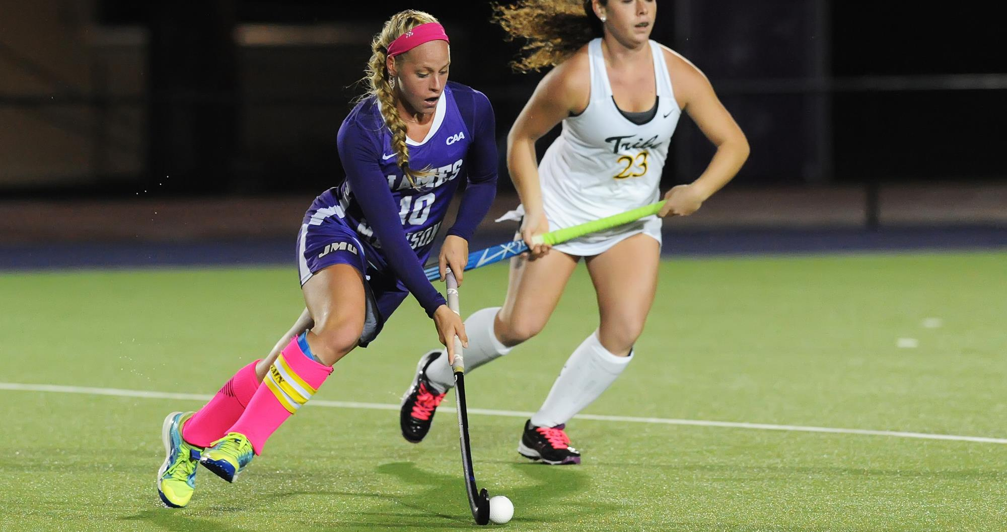 Field Hockey: No. 17 JMU Falls 4-3 to William & Mary in Overtime