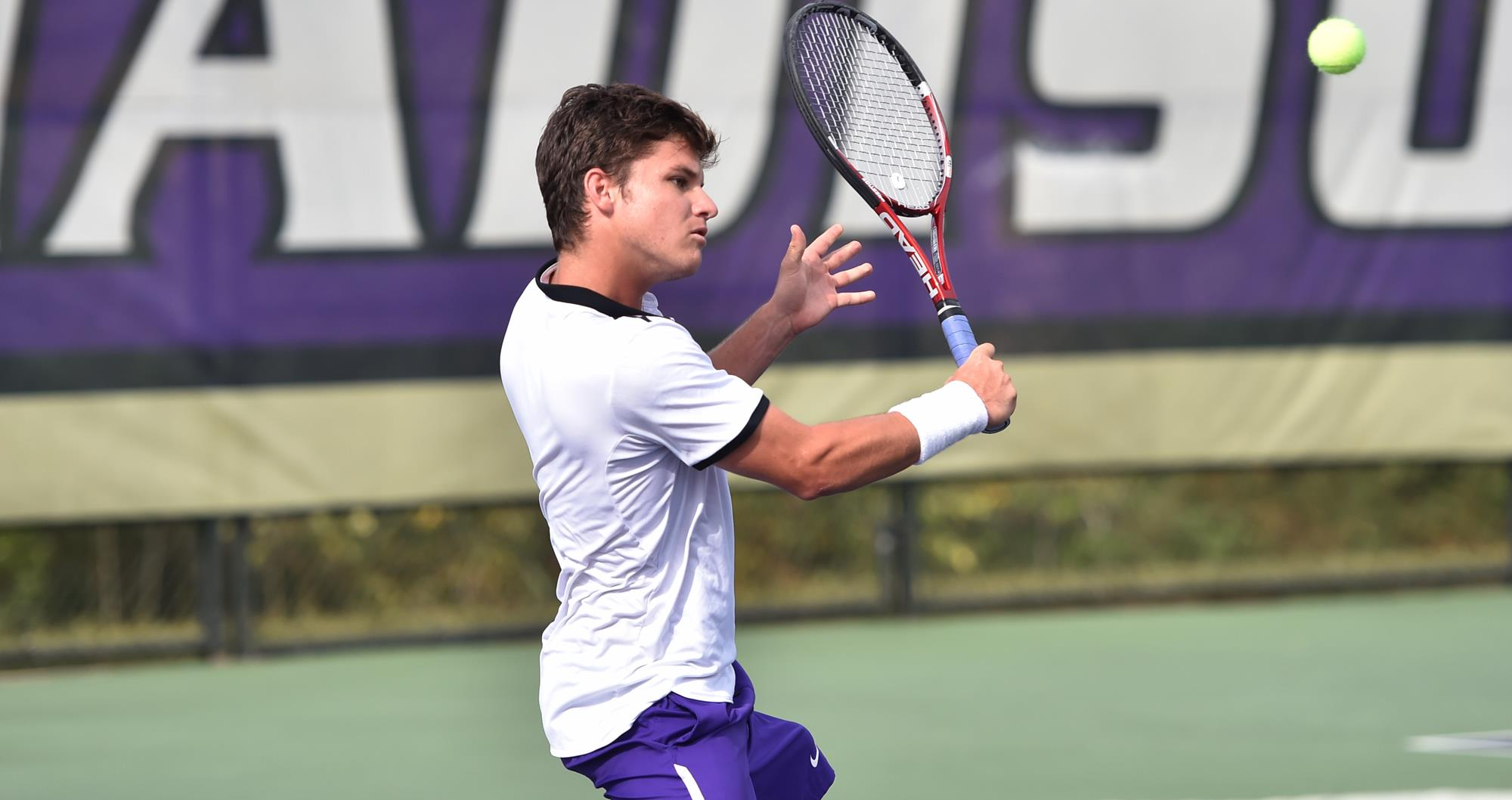 Men's Tennis: Salinas Leads JMU on Day Two of Wolfpack Invitational