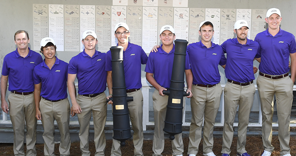 Men's Golf: Cole, Dukes Take Home Titles at Camden Collegiate Invite