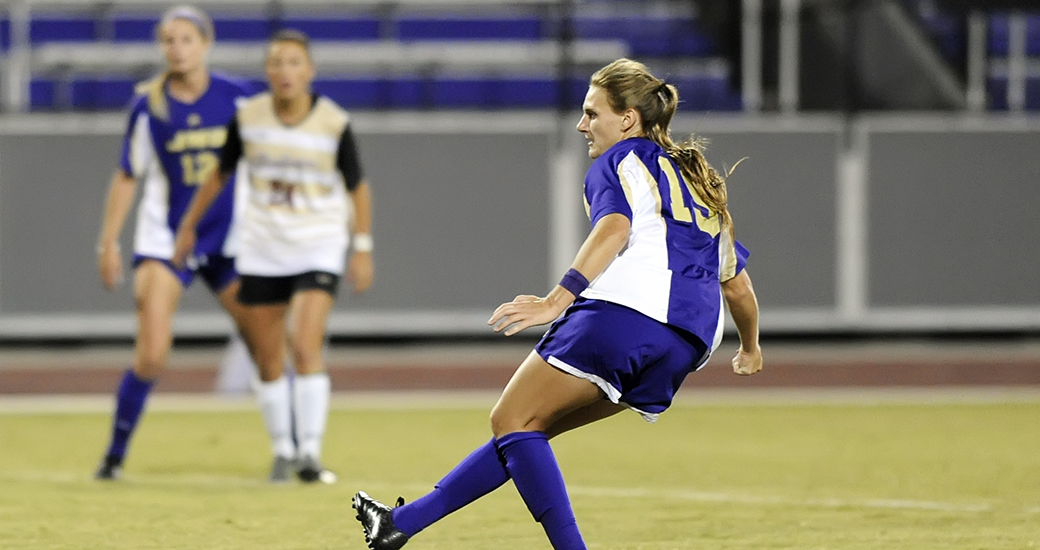 Women's Soccer: Dukes Drop 2-1 Decision at Northeastern