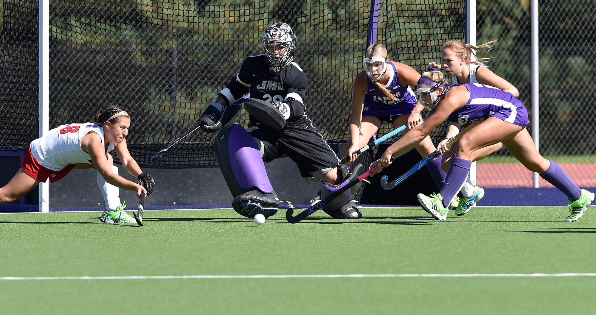 Field Hockey: No. 17 JMU Drops 4-2 Decision to No. 7 Louisville