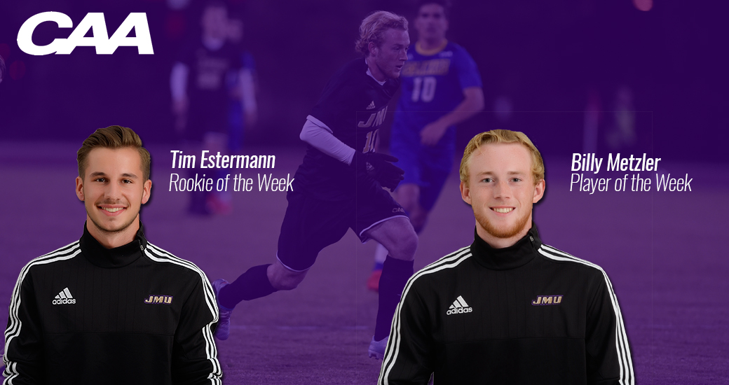 Men's Soccer: Metzler and Estermann Earn Weekly Honors