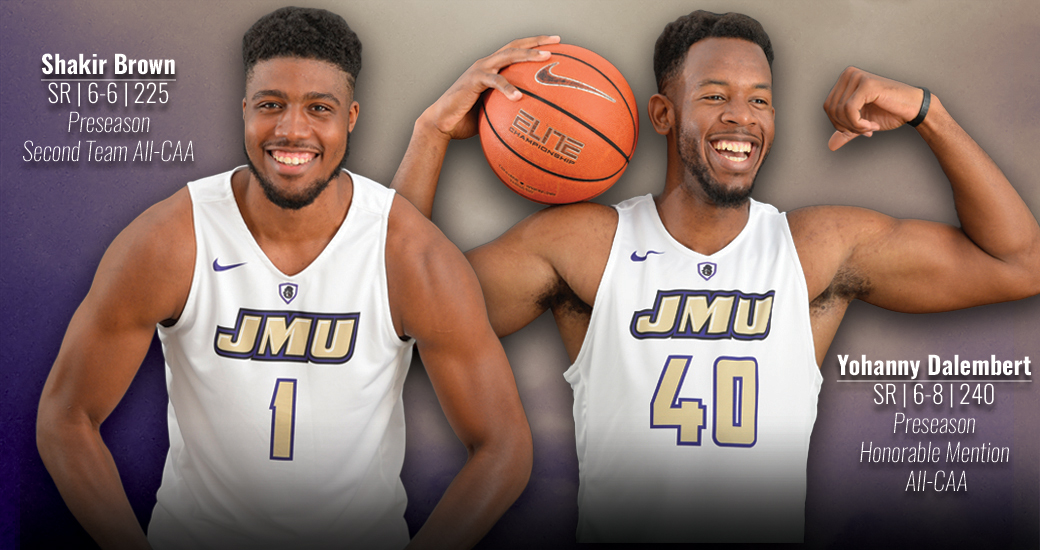 Men's Basketball: Dukes Picked Fifth; Brown and Dalembert Named Preseason All-CAA