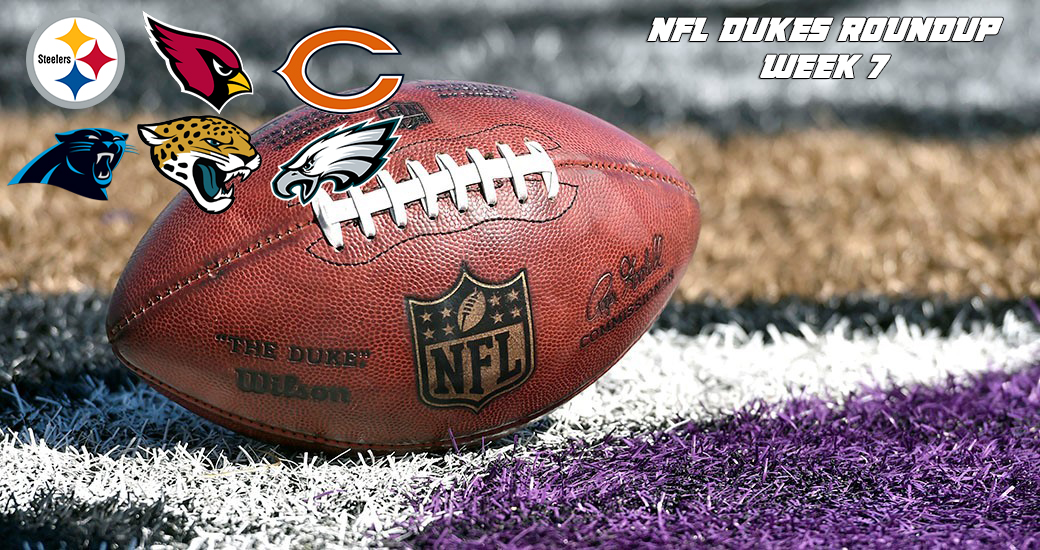 Football: NFL Dukes Roundup - Week 7