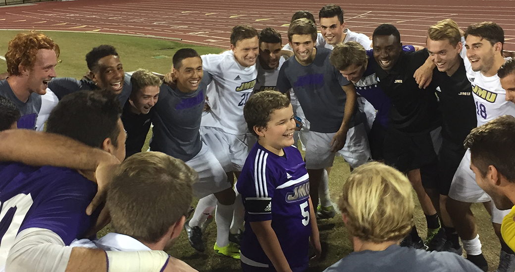 Men's Soccer, Community Relations: JMU Men's Soccer Welcomes Newest Member Ian Barb