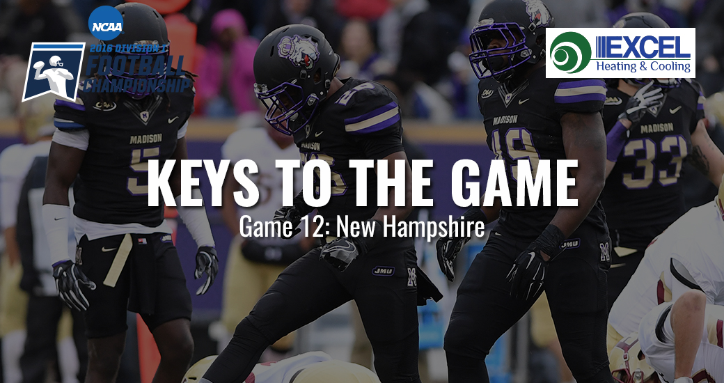 Football: Keys to the Game: JMU vs. New Hampshire - FCS Second Round