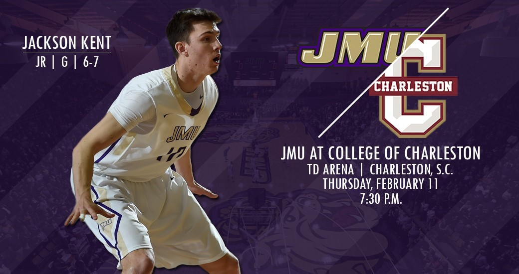 Men's Basketball: Dukes Open Carolina Swing With Trip to College of Charleston