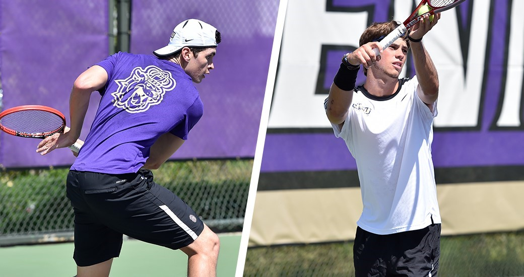 Men's Tennis: Stirling, Stitt Tabbed CAA Doubles Team of the Week