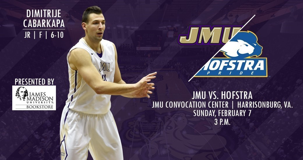 Men's Basketball: Dukes Welcome Hofstra in Crucial CAA Battle