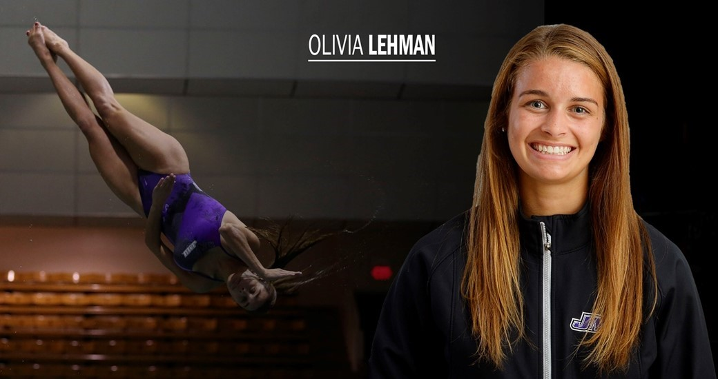 Women's Swimming and Diving: Junior Diver Olivia Lehman Propels Herself to Keep Improving After NCAA Championships