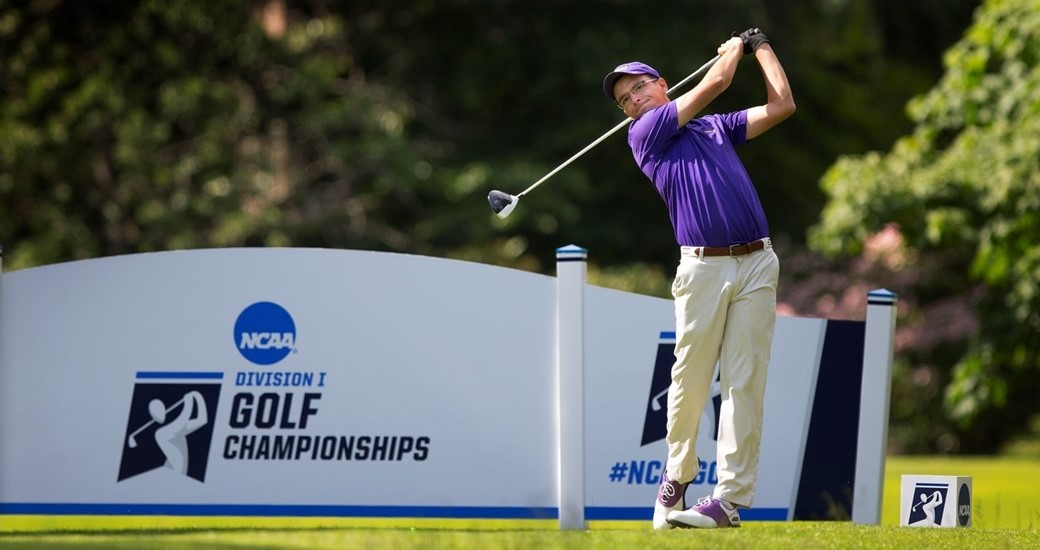 Men's Golf: Ryan Cole Completes First Round at National Championships