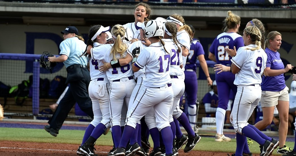Softball: Mrozek's Walk-Off Clinches 3-2 JMU Win over LSU in Super Regional Game One