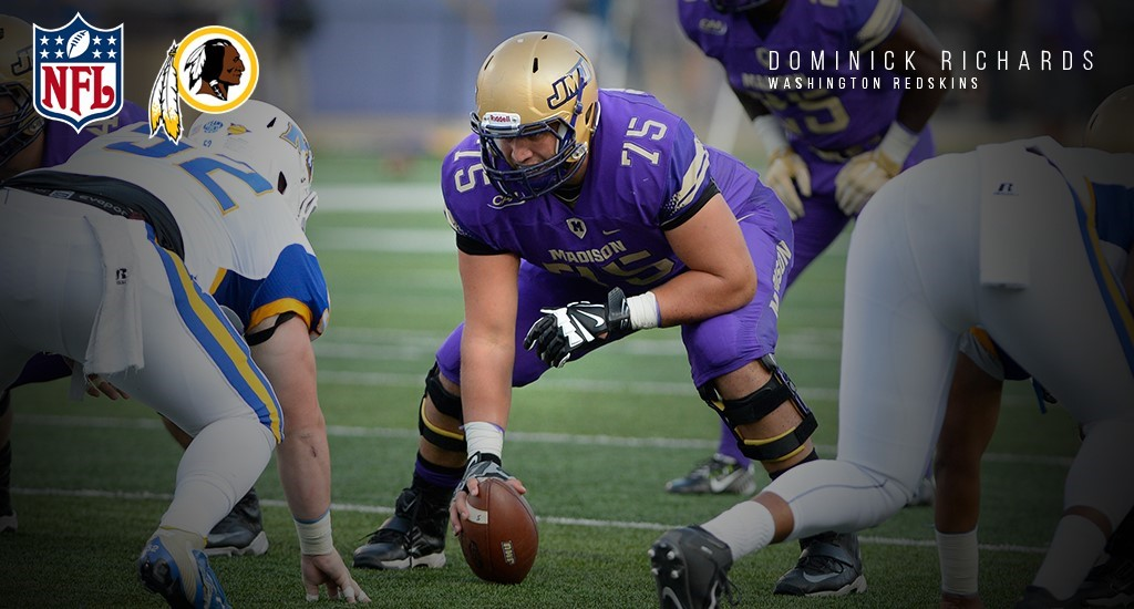 Football: Richards Invited to Rookie Minicamp with Washington Redskins