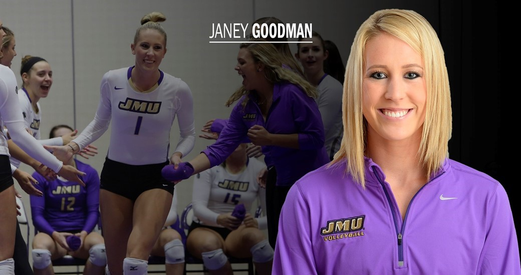 Women's Volleyball: Volleyball's Janey Goodman Readies For Senior Campaign