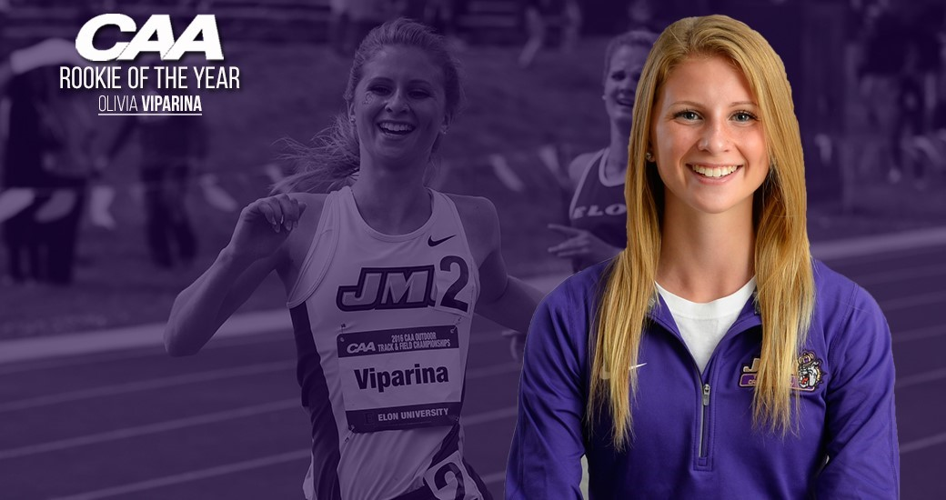 Track & Field: Viparina Named CAA Track & Field Rookie of the Year