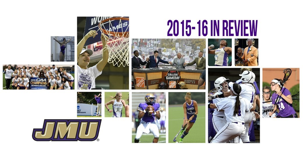 General, Administration: JMU Athletics Posts Best Winning Mark in Virginia in 2015-16 to Cap Banner Year