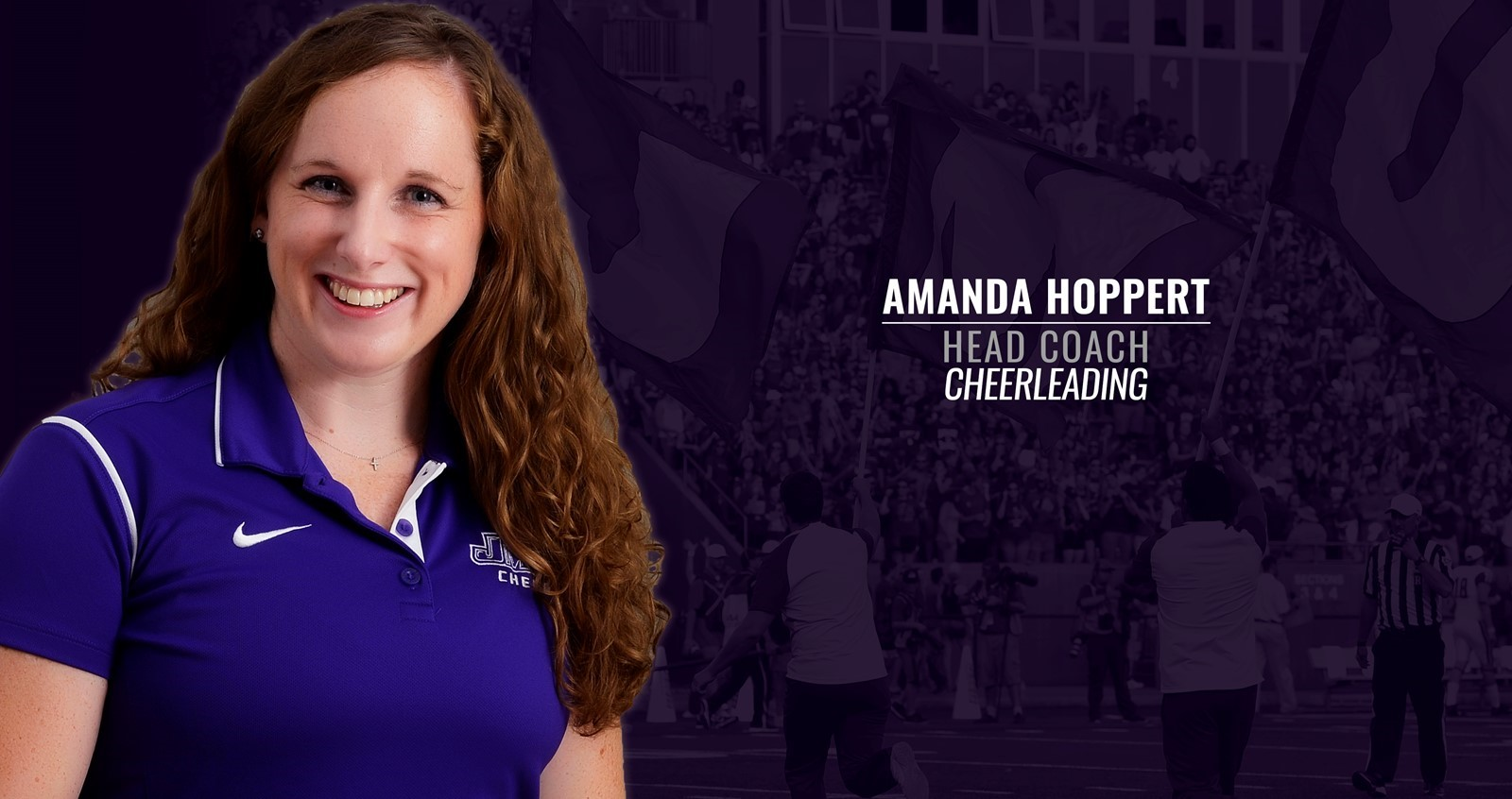 Cheerleading: JMU Hires Amanda Hoppert as Head Cheerleading Coach