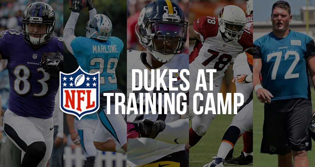 Football: Five Former Dukes Set to Tackle NFL Training Camps