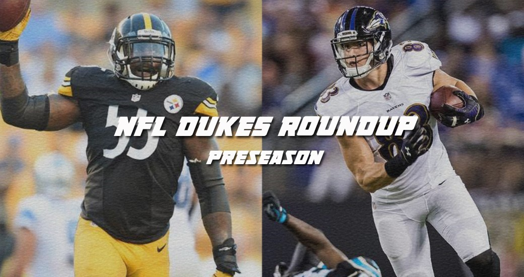 Football: NFL Dukes Roundup - Halftime in Preseason