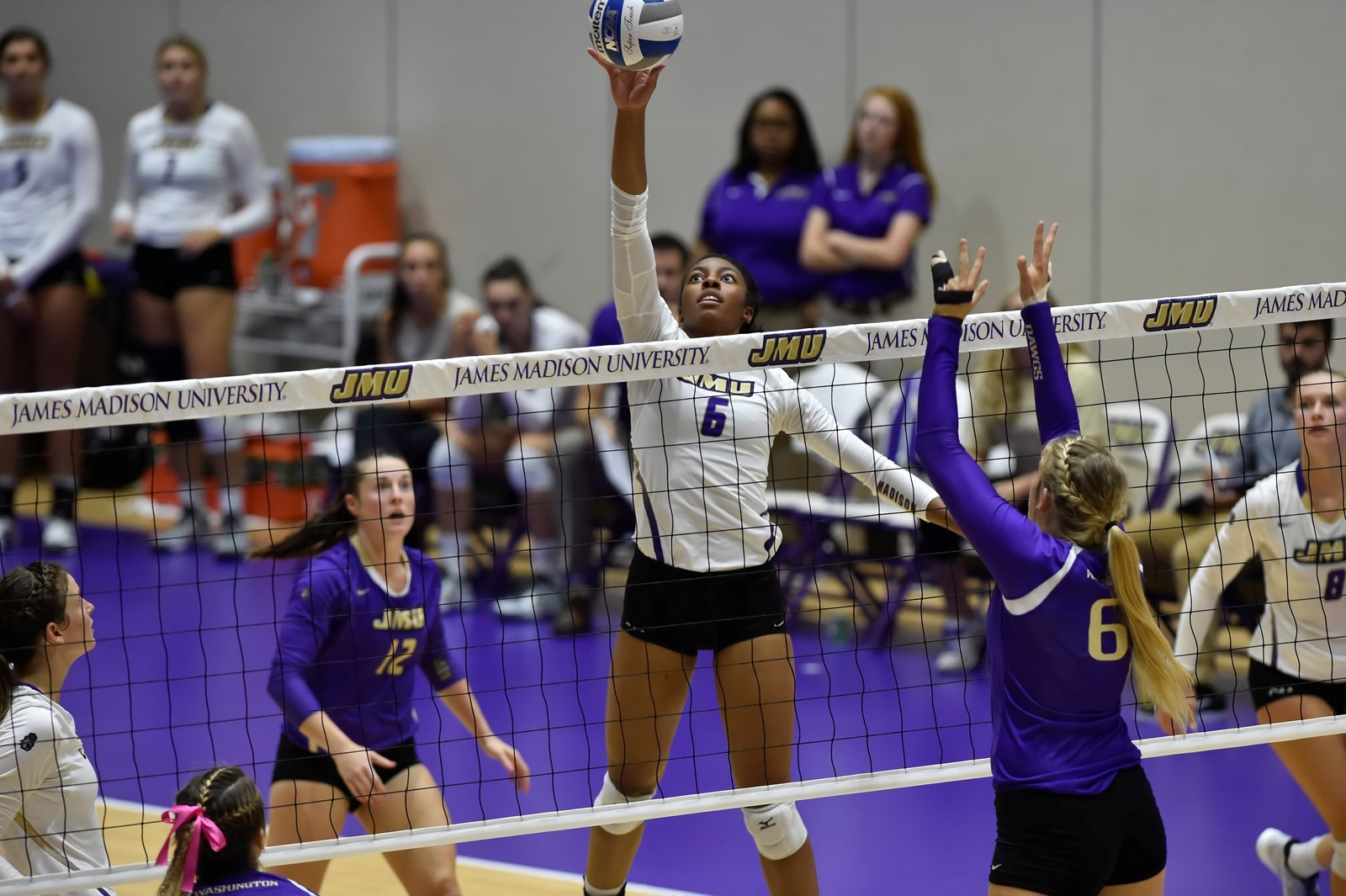 Women's Volleyball: Volleyball Wins JMU Invitational But Falls To #7 Washington