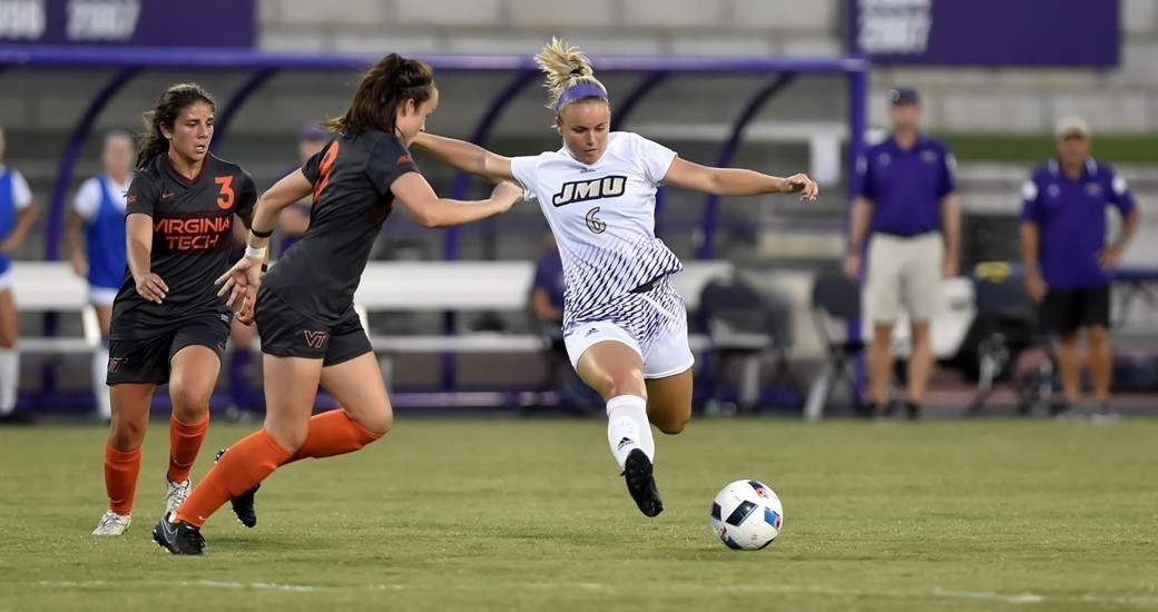 Women's Soccer: First-Half Goals Sink JMU in 3-0 Loss to William & Mary