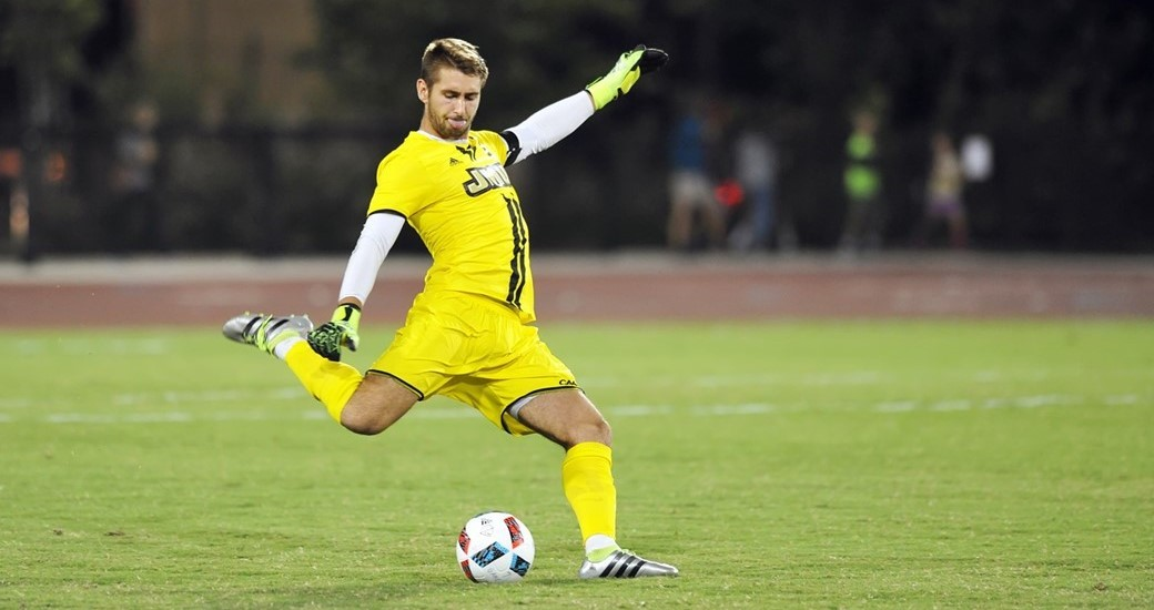 Men's Soccer: JMU Earns First CAA Point in Scoreless Draw with Elon