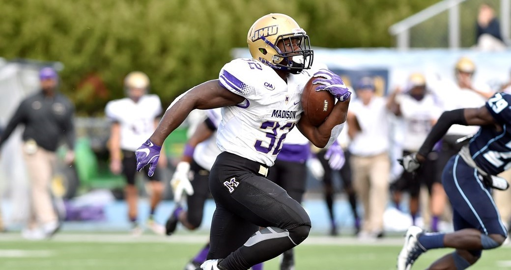 Football: Second-Half Surge Lifts #11 Dukes Over Maine, 31-20