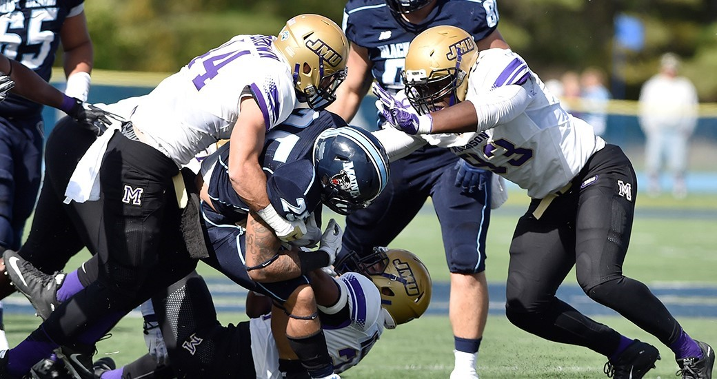 Football: Dukes Move up to Seventh in Media Poll, Sixth in Coaches