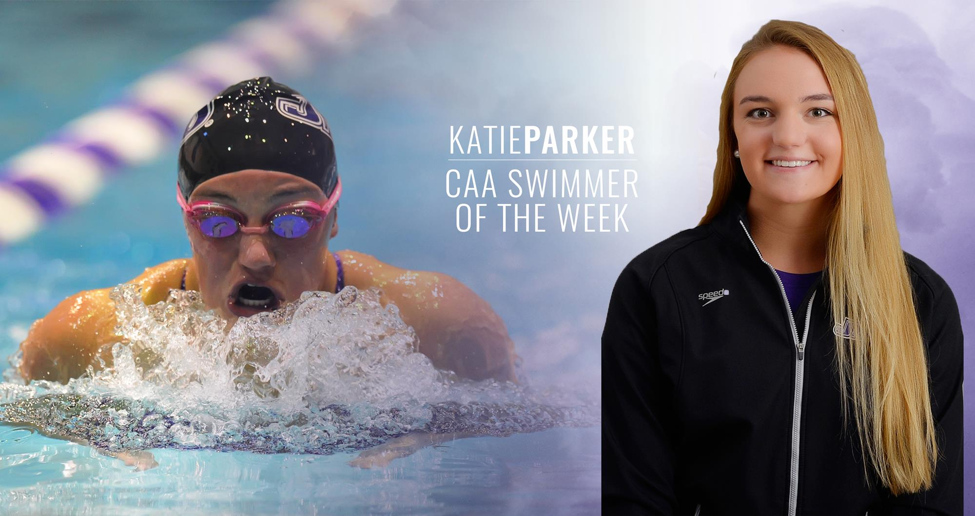 Women's Swimming and Diving: Katie Parker Tabbed as CAA Swimmer of the Week