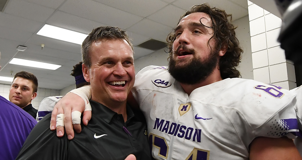 Football: James Madison Restructures Contract of Football Head Coach Mike Houston