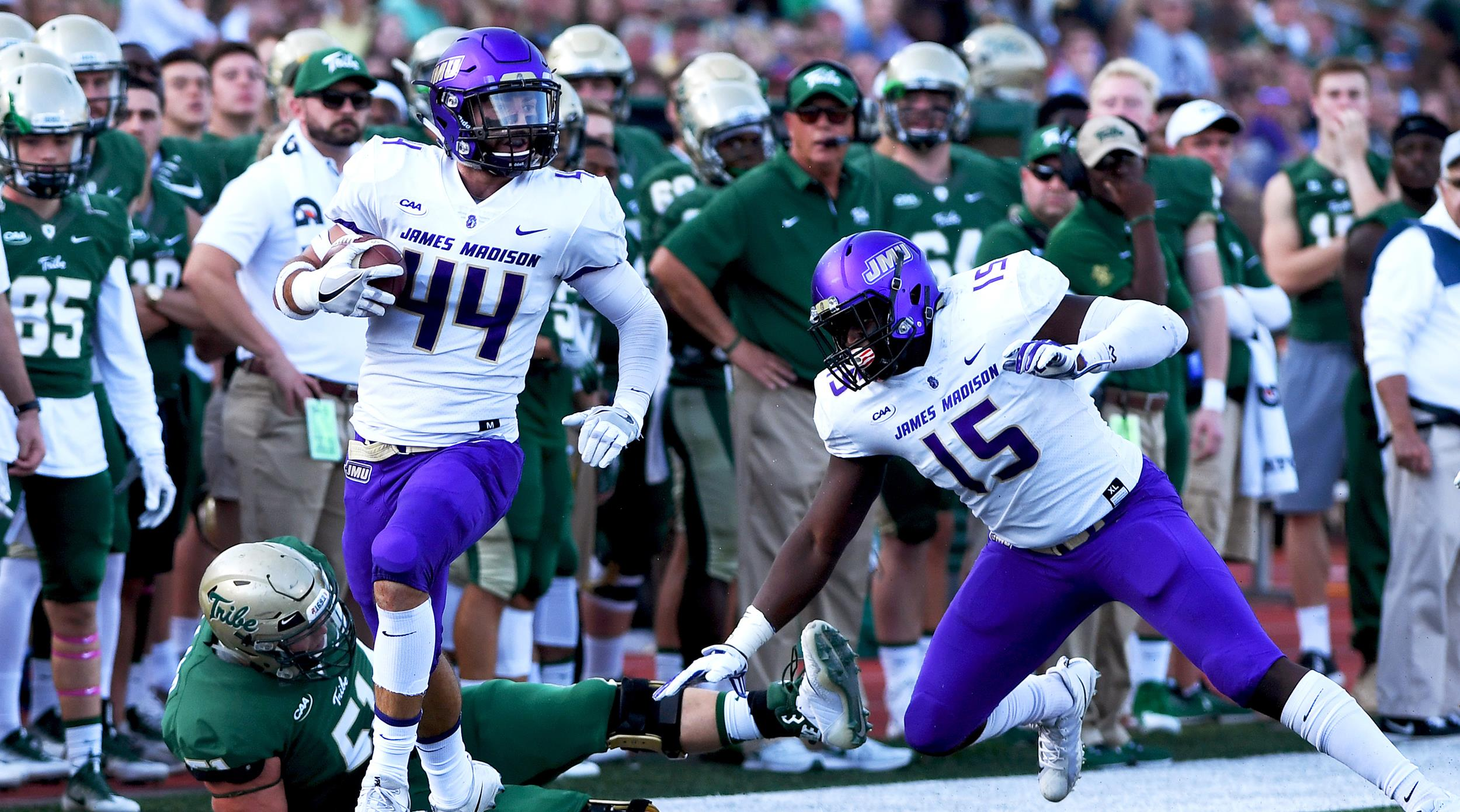 Football: Defense Equals Offense in #1 JMU's 46-14 Rout of William & Mary)