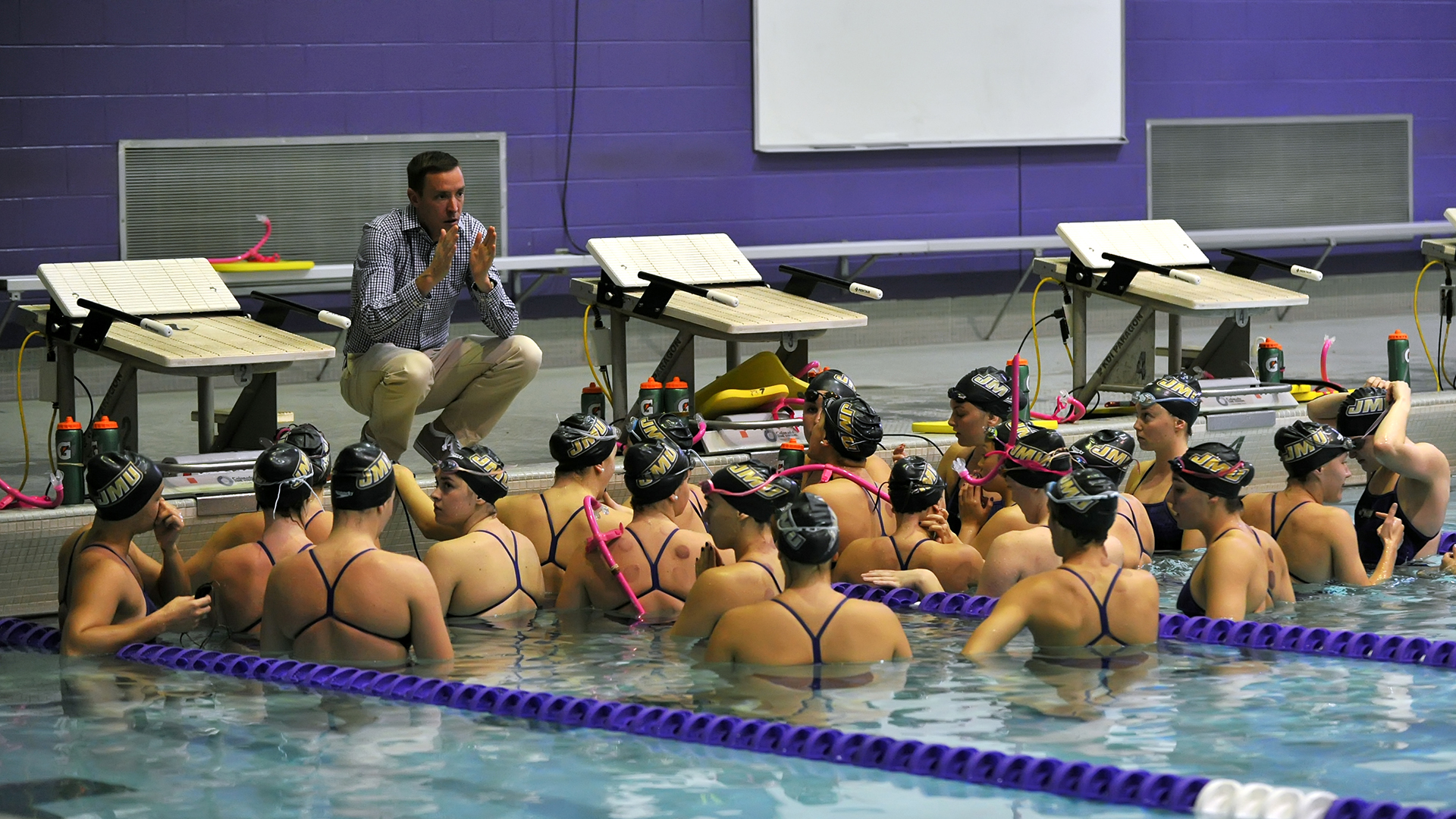 Women's Swimming and Diving: Dukes Remain in Fifth After Day Two of the Frank Elm Invitational)
