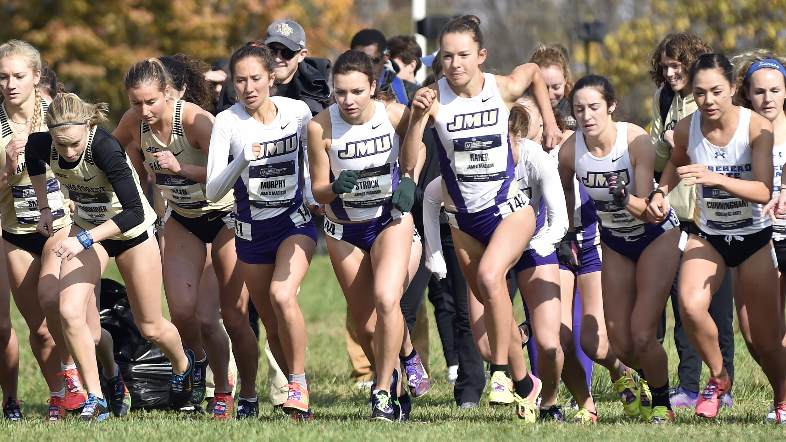 Women's Cross Country: Dukes Win ECAC Championship For Second Consecutive Year)