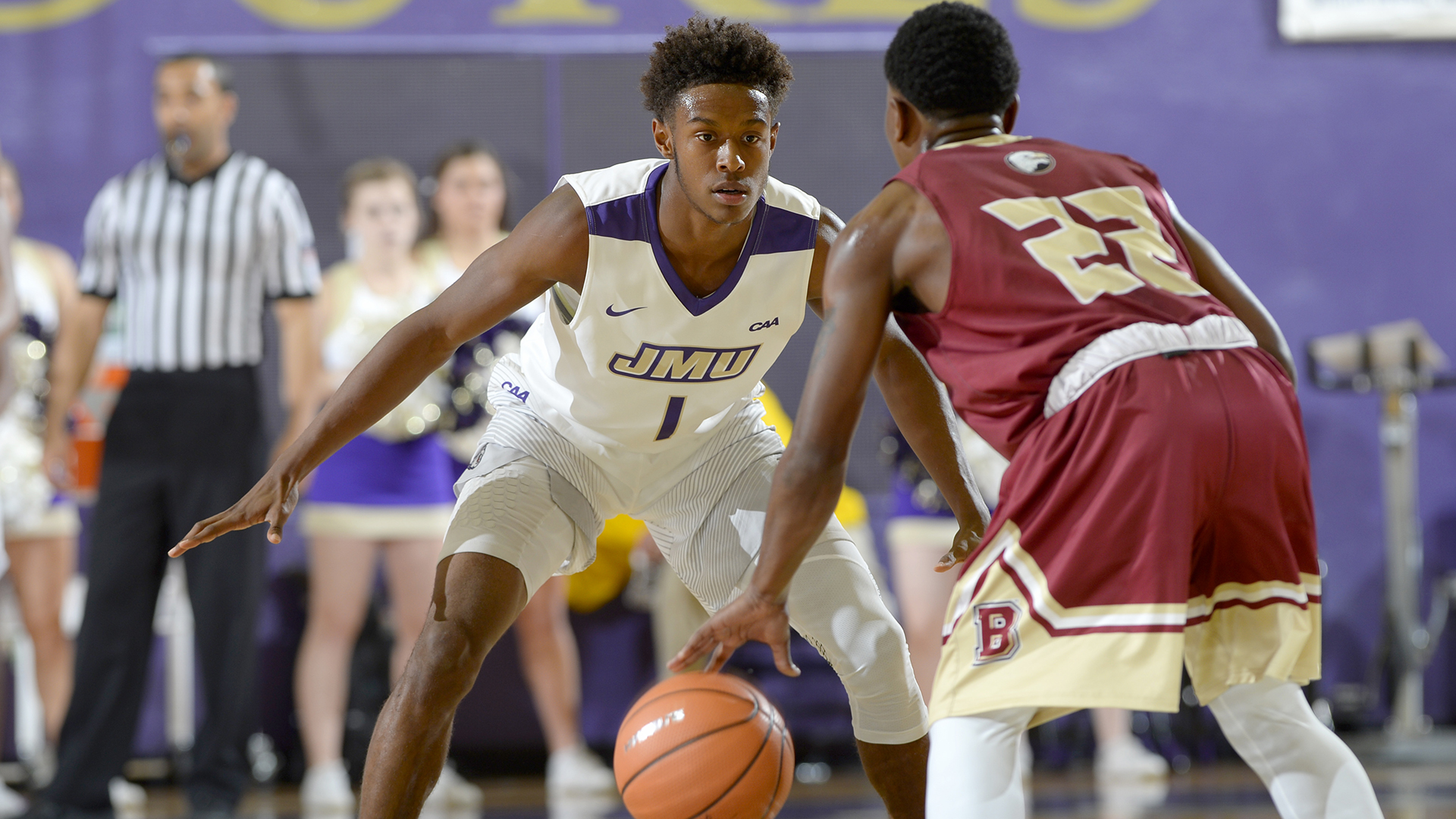 Men's Basketball: Dukes Drop 73-65 Decision to Weber State)