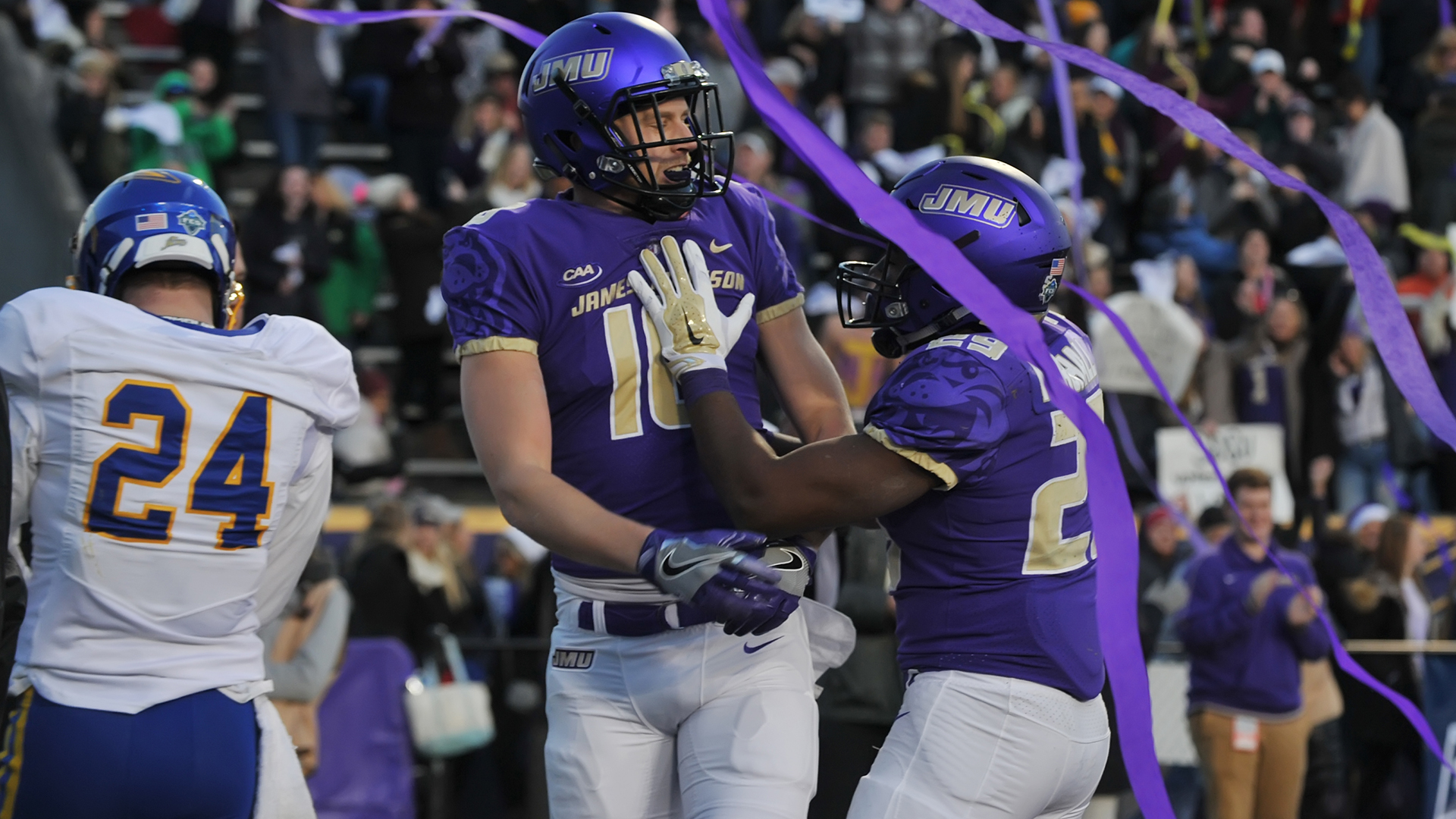 Football: Frisco Bound! JMU Punches Ticket to FCS Title Game Downing South Dakota State 51-16)