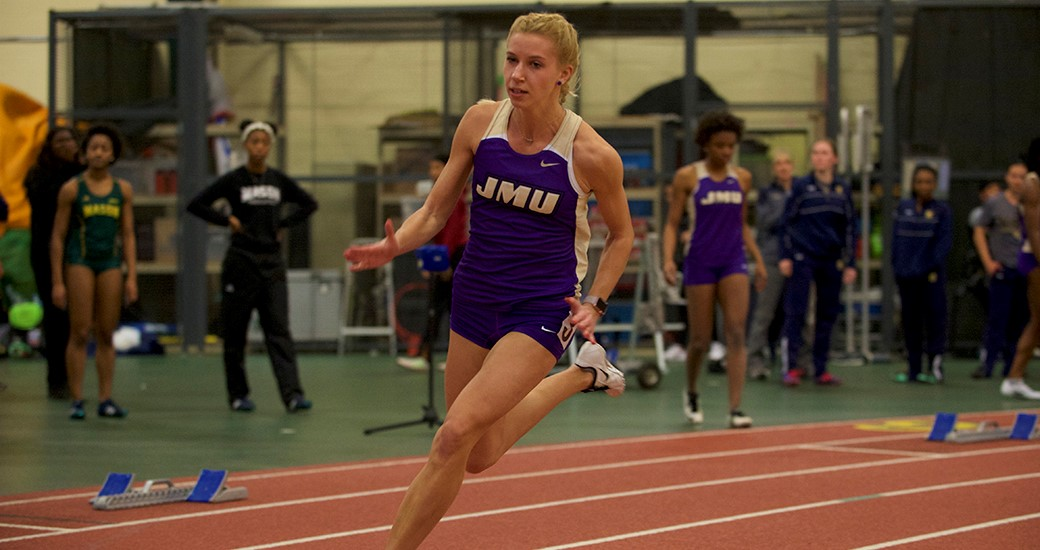 Track & Field: 4x400 Relay Team Breaks School Record at Virginia Tech Challenge)