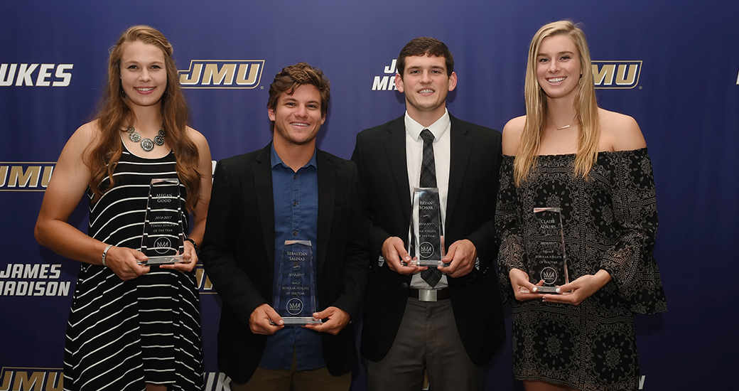Administration: JMA Awards Recognize a Year of JMU Athletics Achievements)