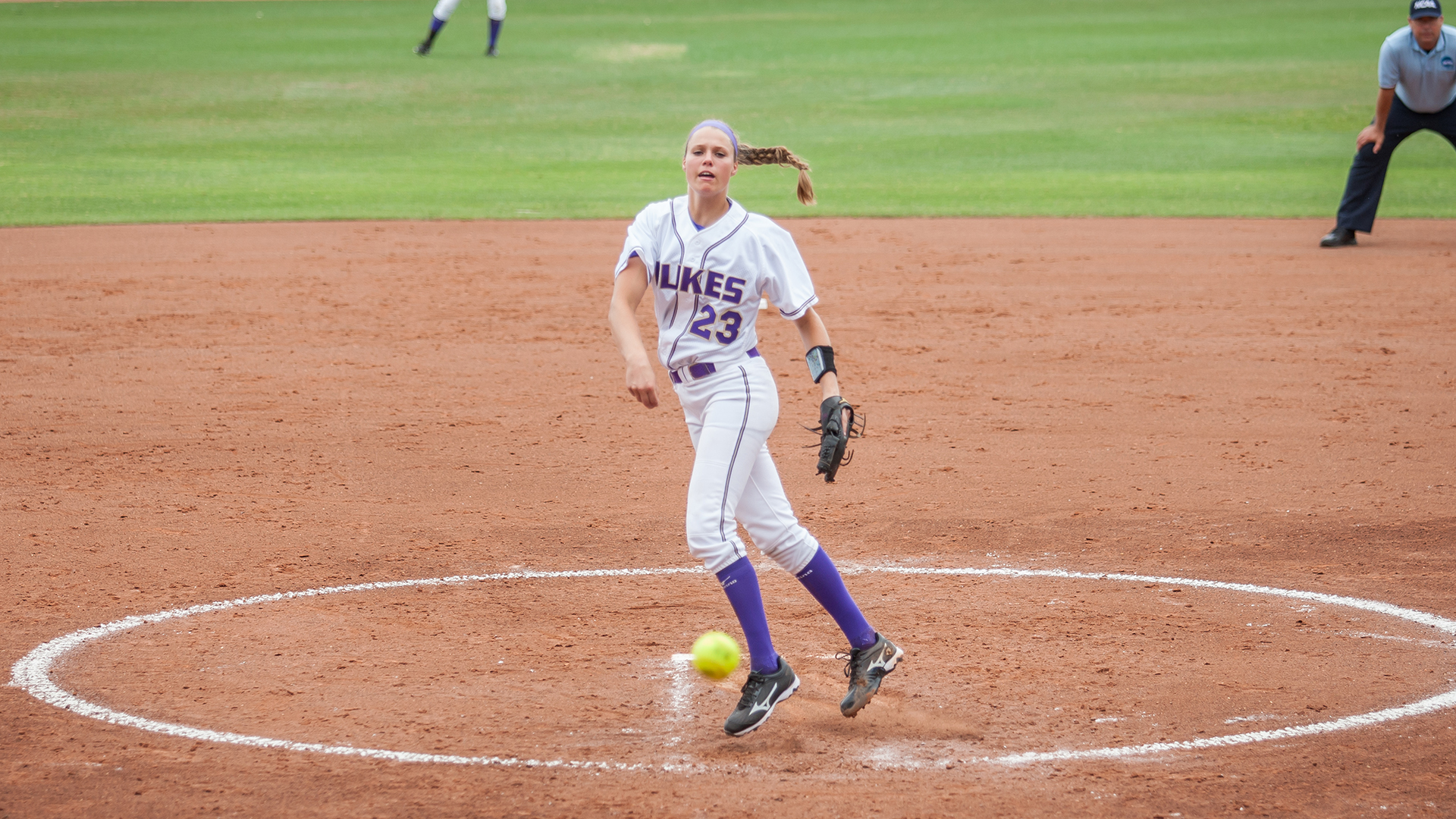 Softball: JMU Falls to Baylor 4-2; Awaits Opponent For Saturday's Elimination Contest)