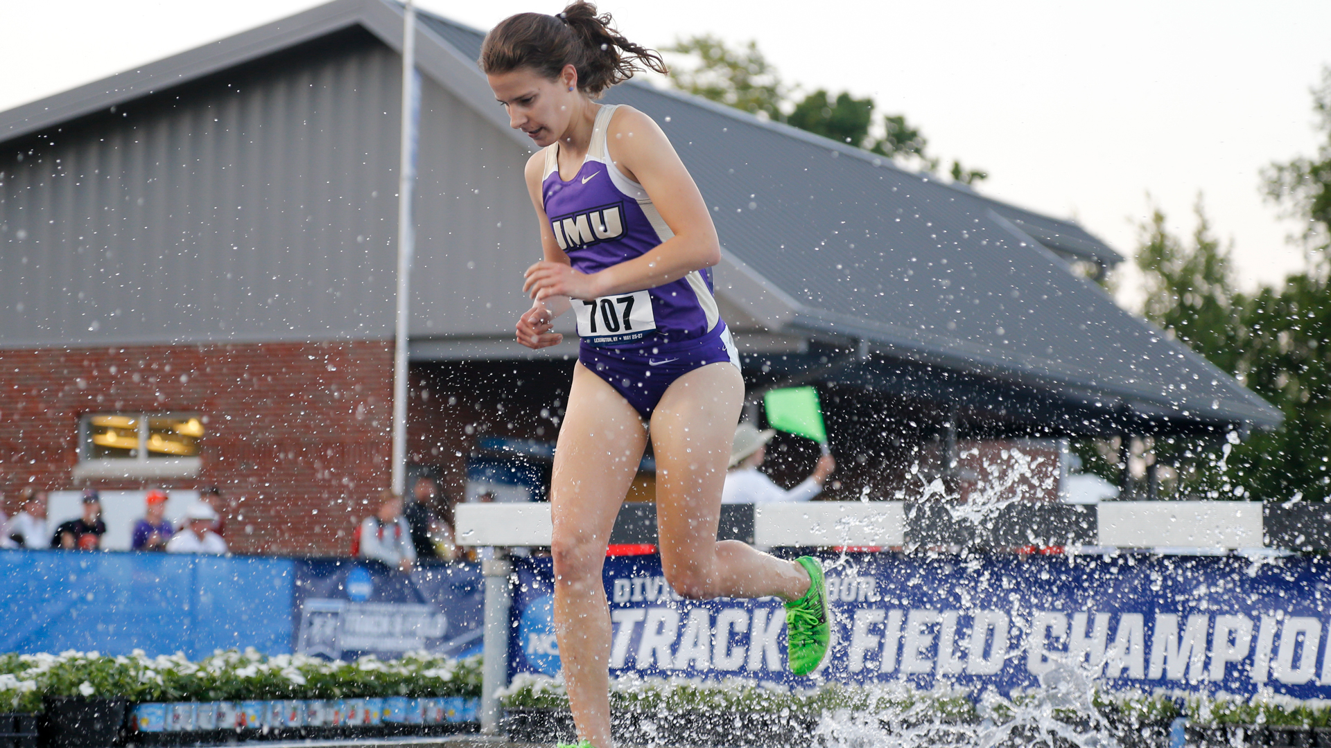 Track & Field: Mundell Completes Career at NCAA Preliminary Steeplechase)