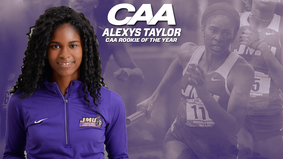 Track & Field: Alexys Taylor Reels in CAA Rookie of the Year Award)