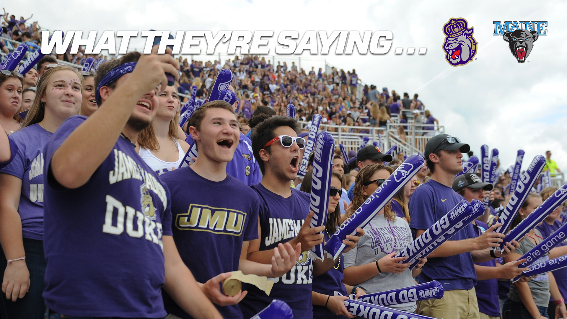 Football: What They're Saying: JMU vs. Maine)