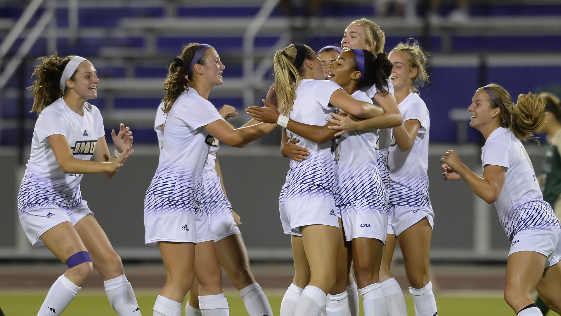 Women's Soccer: Dukes Open CAA Play With 2-0 Win Over W&M)