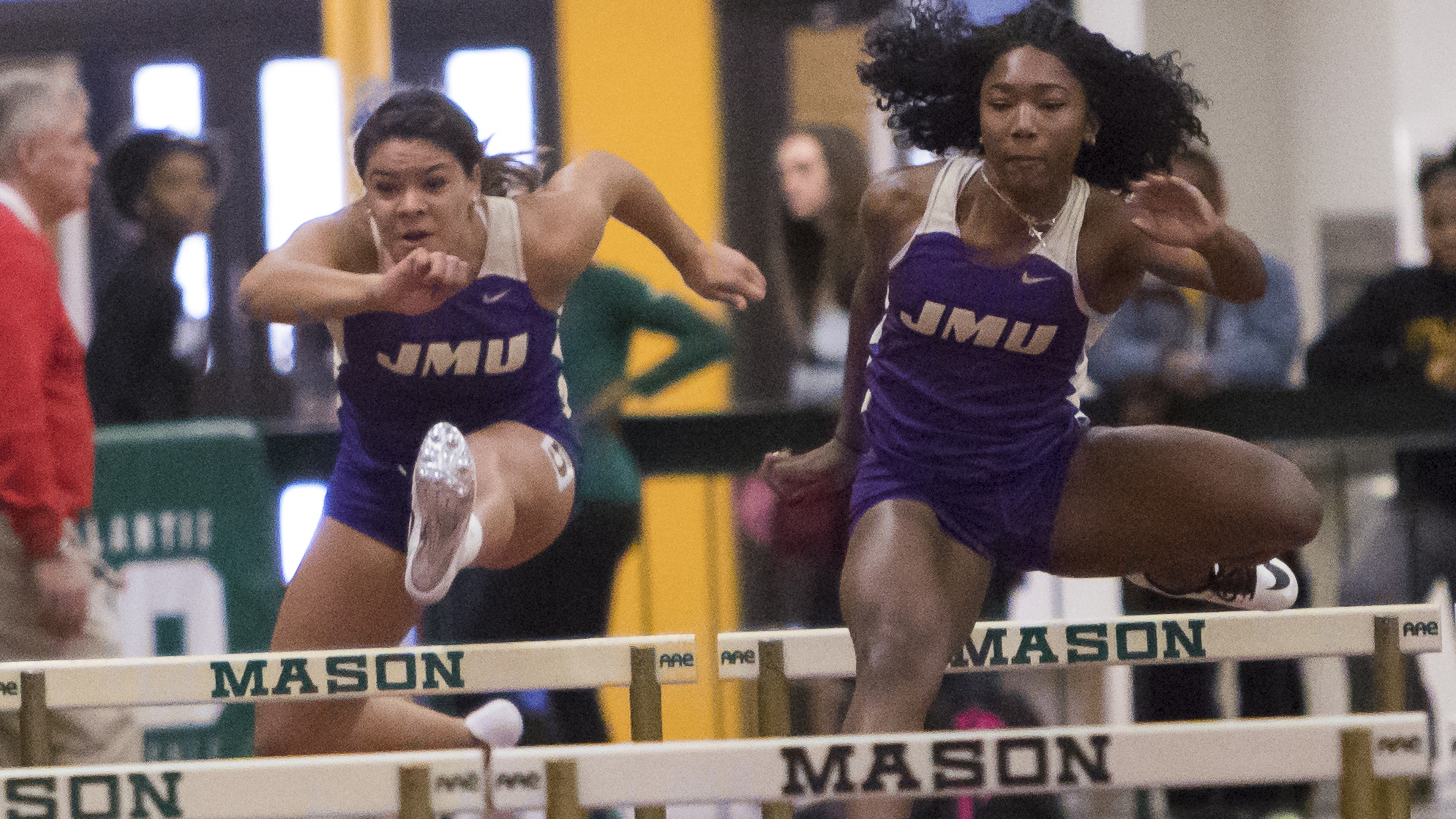 Track & Field: Dukes Wrap Up Day One Of Keydet Invitational)