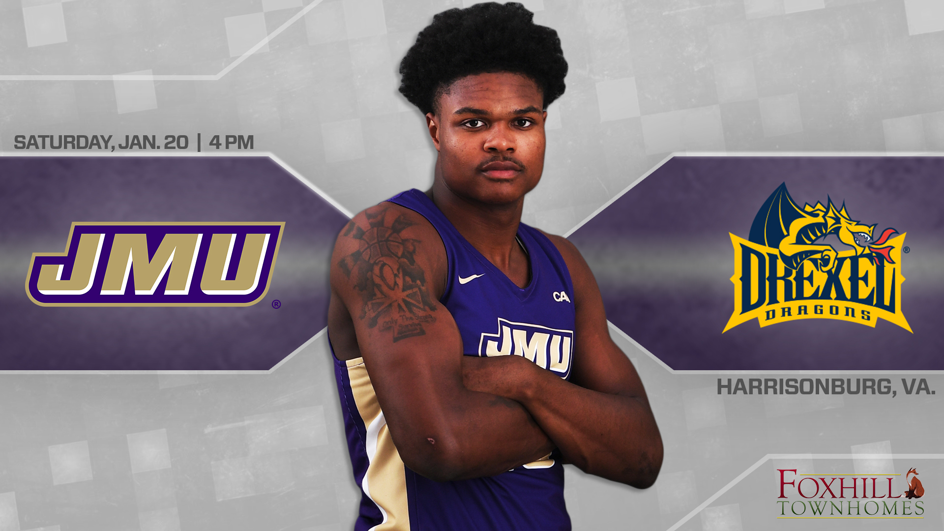 Men's Basketball: JMU Closes Homestand With Bout Against Drexel)
