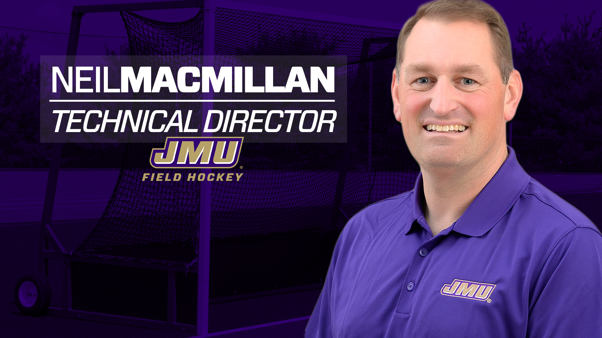 Field Hockey: Dukes Welcome Neil Macmillan to Staff as Technical Director)