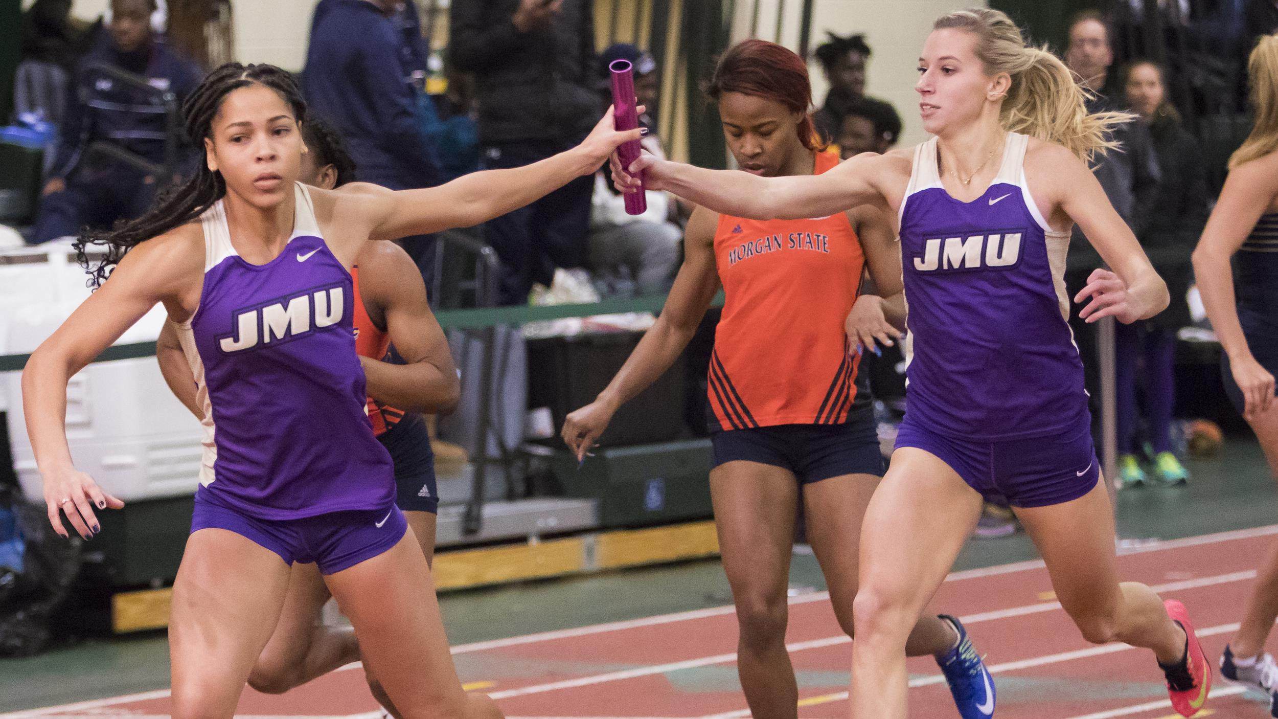Track & Field: JMU Wraps Up Weekend At The Keydet Invitational)