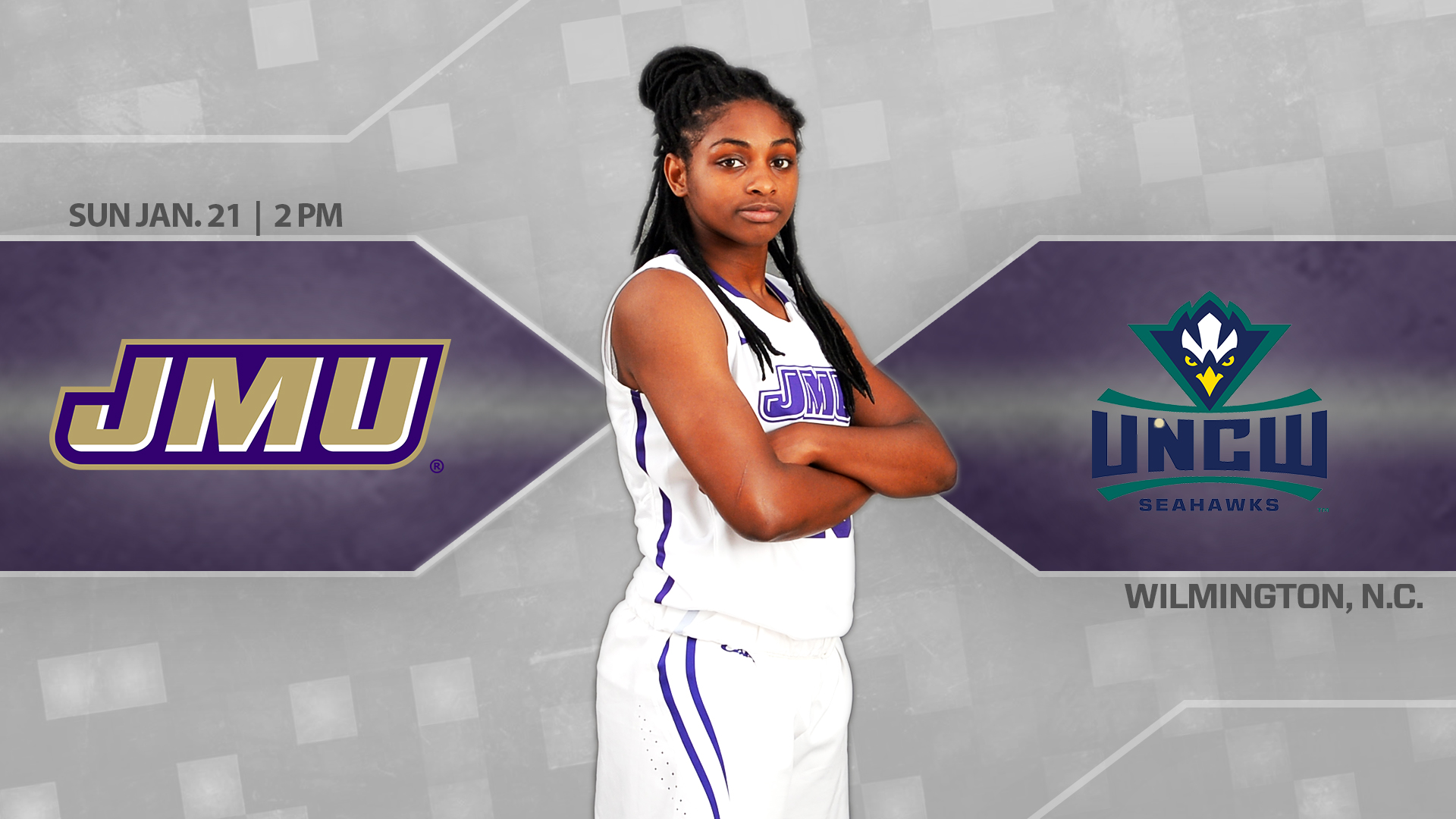 Women's Basketball: Dukes Take on UNCW In a Sunday Afternoon Match-Up)