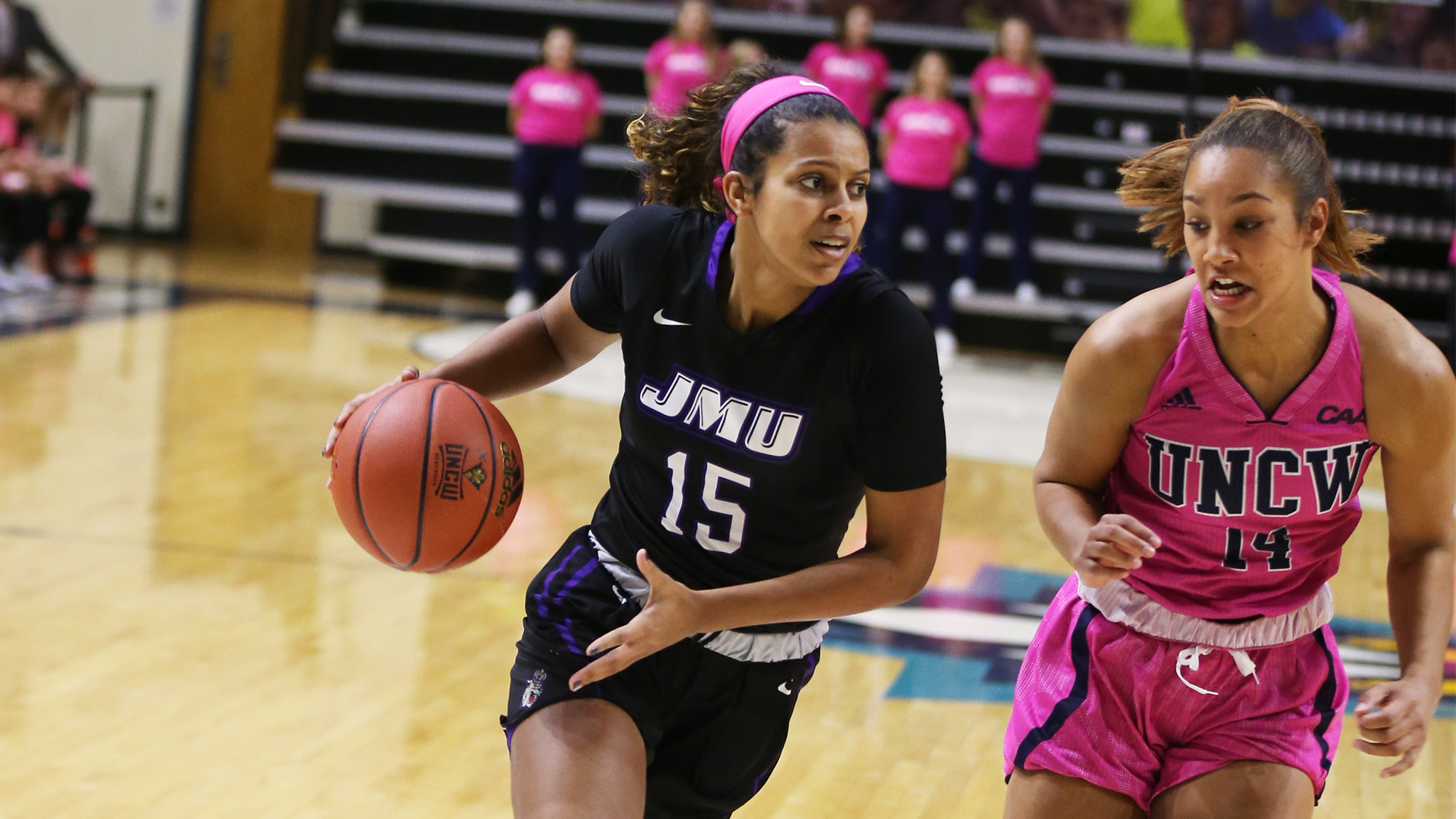Women's Basketball: JMU Stifles UNCW for 63-48 Victory, Stretches Win Streak to Eight)